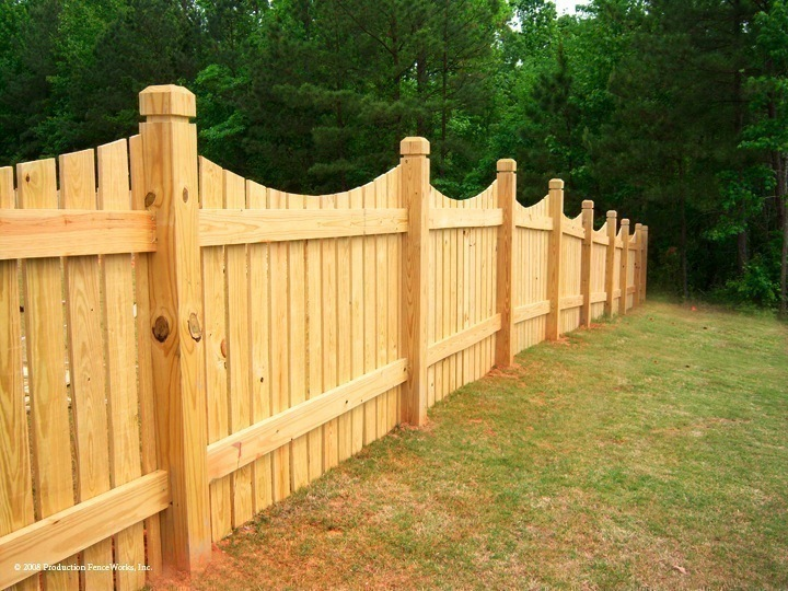 Fence Wooden Posts Fences
