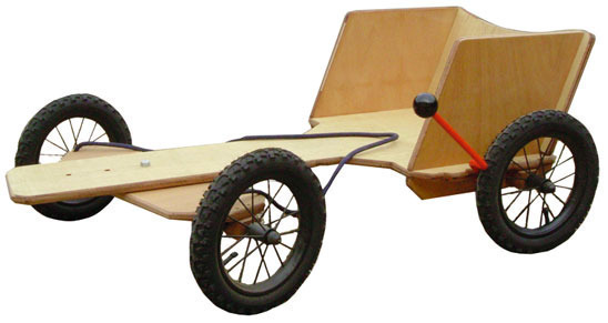 plans for wood go kart