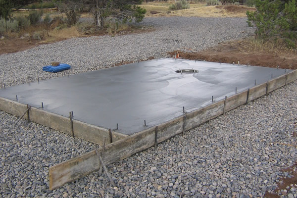 How To Build A Concrete Slab